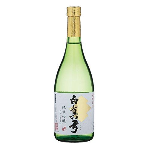 蒲酒造場『白真弓 純米吟醸 ひだほまれ』