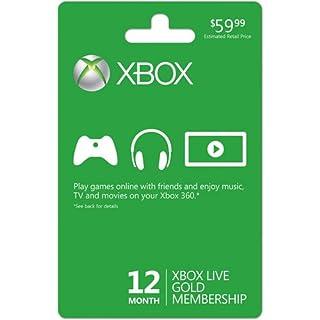 Xbox LIVE 12 Month Gold Membership Card (B0029LJIFG) | Amazon price tracker / tracking, Amazon price history charts, Amazon price watches, Amazon price drop alerts