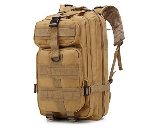 Z-GJM Outdoor Sports Multifunctional Camouflage Backpack Army Fan Mountaineering Hiking Bag Backpack The Ergonomic Design is Suitable for The Back Structure, Which Can Protec