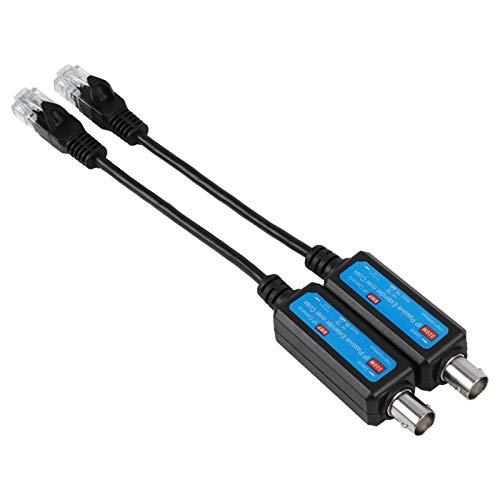 Liujaos Trasmettitore di Rete, trasmettitore di Rete IP affidabile, Pratico per Telecamera HD
