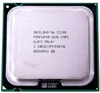 Intel Pentium E5200 2.5GHz 2MB Dual-Core CPU Processor LGA775 SLAY7 SLB9T