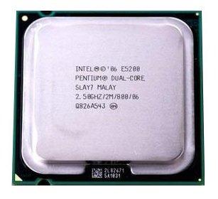Intel Pentium E52002,5GHz 2MB Dual-Core CPU Prozessor LGA775slay7slb9t