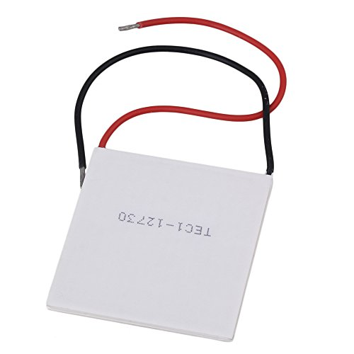 BQLZR White TEC1-12730 253W Thermoelectric Peltier Semiconductor Clip Cooler 62x62mm