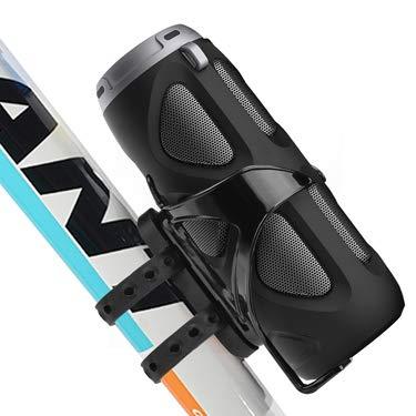 Avantree 10W Bluetooth Fahrrad Lautsprecher mit Fahrrad Mount, Portabel für die Benutzung draußen, beim Sport oder Campen. Unterstützt SD Karten und NFC - Cyclone