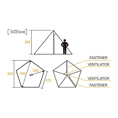 tent-MarkDESIGNS(テンマクデザイン)『サーカスコットンバージョン』