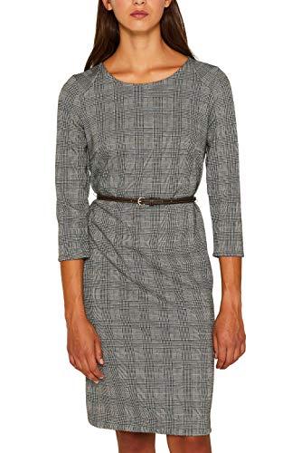 ESPRIT Collection Damen 099Eo1E003 Kleid, Braun (Camel 230), Medium (Herstellergröße: M)