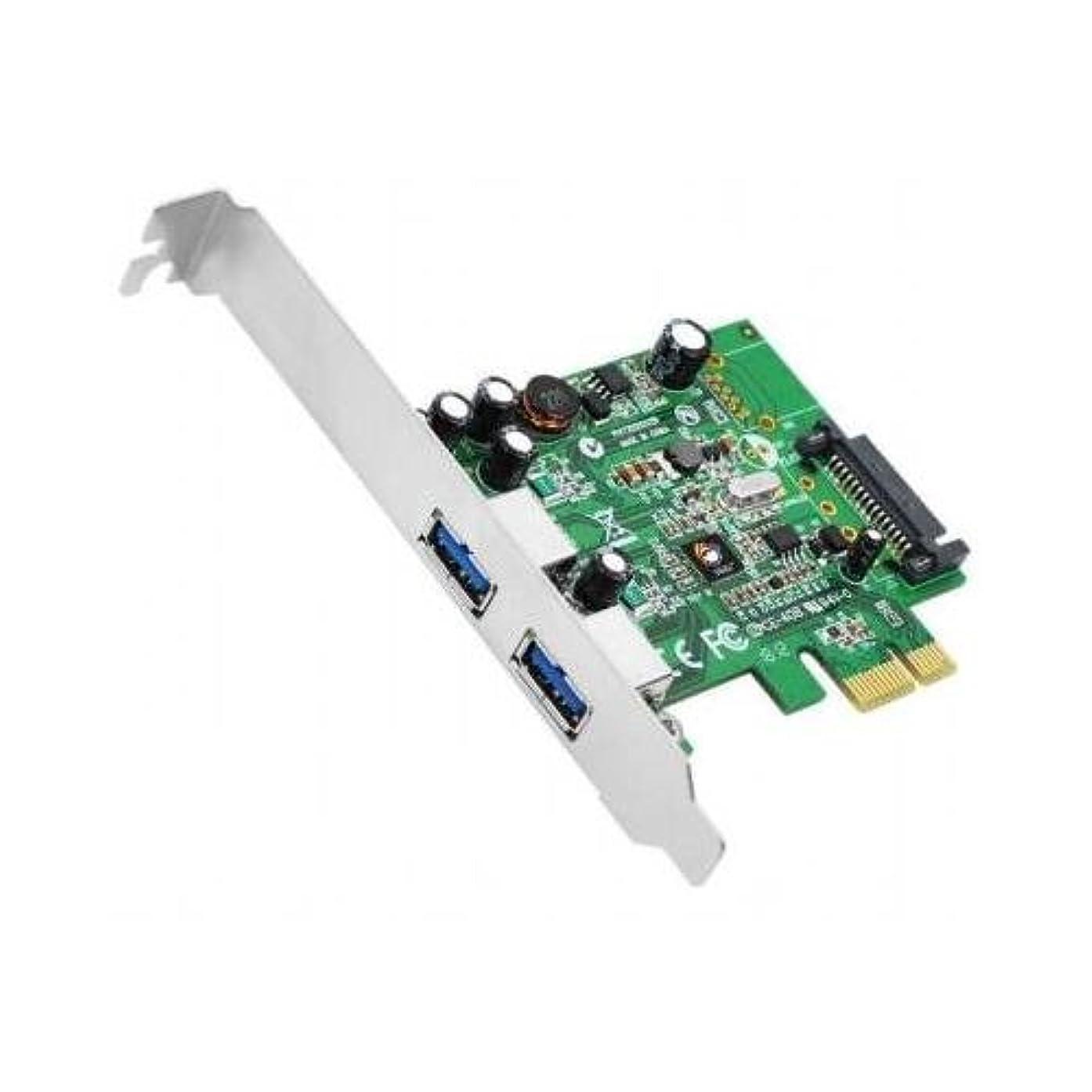 SIIG IO Card JU-P20612-S1 DP SuperSpeed USB 2-Port PCIe