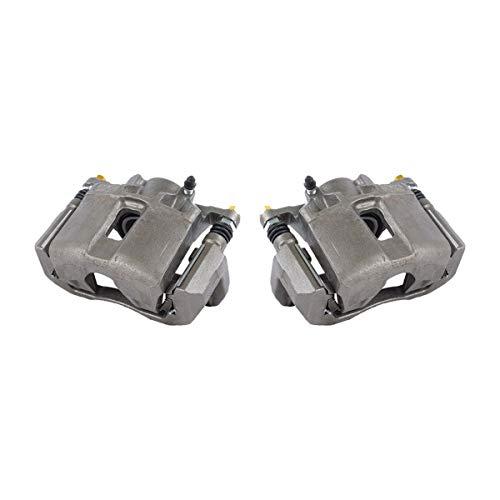 Callahan CCK11106 [2] FRONT Premium Grade OE Semi-Loaded Caliper Assembly Pair Set