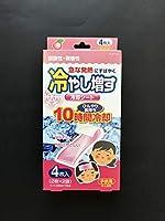 紀陽除虫菊 冷やし増す 冷却シート 子供用 ももの香り K-2118 4枚入 4971902921181
