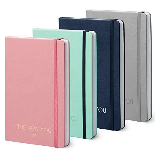 THE NEW YOU - Das Buch, das dein Leben verändert: Life-Coach & Planer | Erfolgsjournal, Dankbarkeitsjournal für ein glücklicheres & erfüllteres Leben (Rosa)
