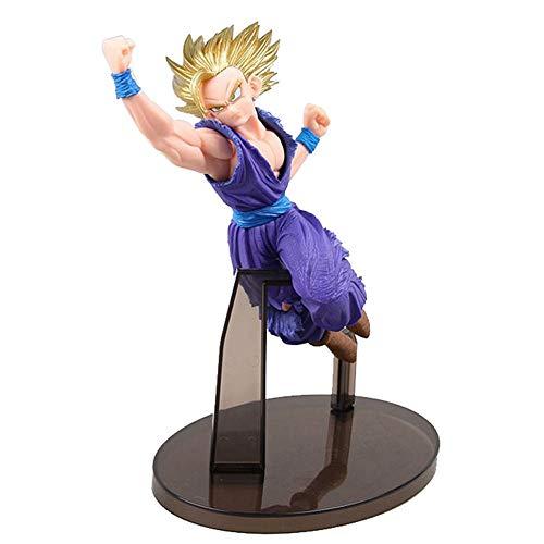 Figura de Dragon Ball Anime Modelo Budokai Gohan Puño de dragón L Muñeca Adornos en cajaAnimado Souvenir, Altura 17 cm