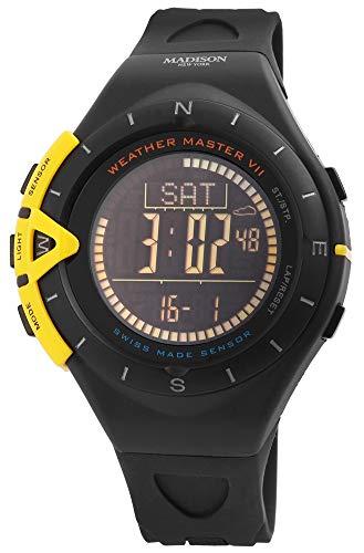 Armbanduhr Herrenuhr Digitaluhr Weather Master VII