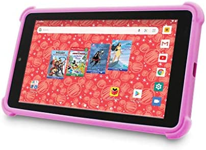 Venturer Small Wonder 7 Android Kids Tablet with Disney Books Bumper Case Google Play 16GB Storage product image