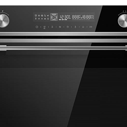 Cookology 72L Built-In Electric Oven & 44L Compact Microwave Oven Pack