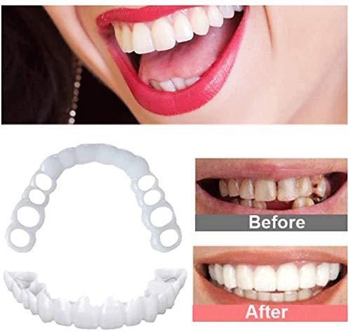 ZXH 2 Pair Veneers Snap In Teeth Denture Cover