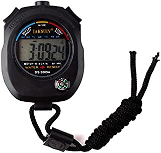 Niome Waterproof Chronograph Timer Stopwatch Sport Counter Digital Odometer Watch