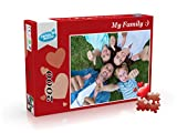 Foto Puzzle Personalizado, Puzzle Personalizado con tu Foto 500, 1000, 2000 Piezas, Puzzle Personalizado con tu Foto Favorita (2000 Piezas)