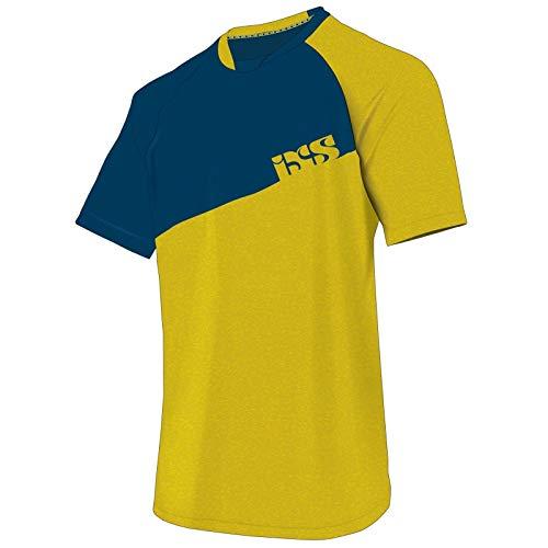 IXS - Radsport-Trikots & -Shirts für Jungen in Gelb, Größe L