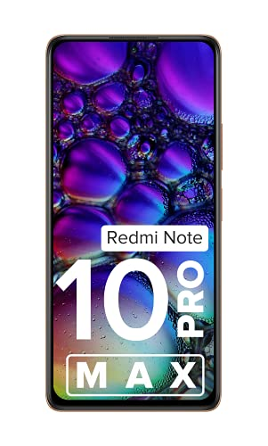 Redmi Note 10 Pro Max (Vintage Bronze, 6GB RAM, 128GB Storage) -108MP Quad Camera   120Hz Super Amoled Display   6 Month Free Screen Replacement (Prime only)   Extra 1000 Off on Coupon