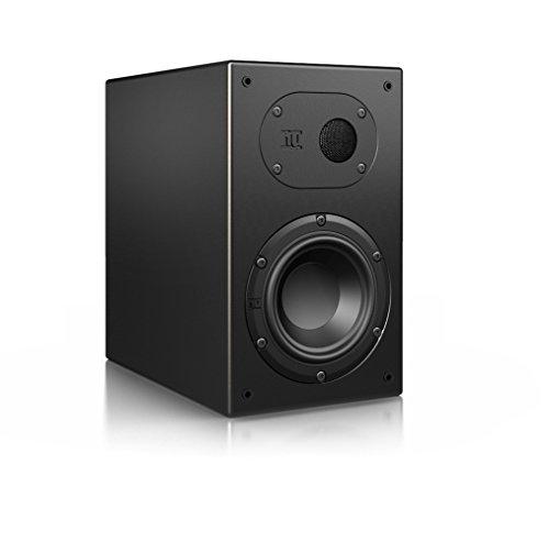 Nubert nuLine 24 Dipollautsprecher | Lautsprecher für Heimkino & HiFi | Musikgenuss auf hohem Niveau | Passive Surroundbox mit 2 Wege Technik Made in Germany | Kompaktlautsprecher Schwarz | 1 Stück