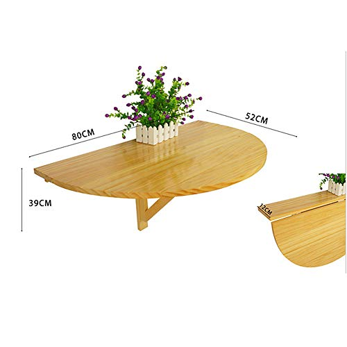 ZR-Mesa de pared Mesa de madera para colocar en la pared, Mesa...
