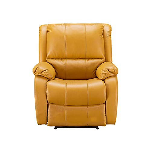 Faules Sofa Einpersonen-Elektrosofa Moderner, Minimalistischer Ledersessel for Das Wohnzimmer mwsoz (Color : B1)