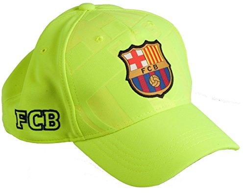 FC Barcellona - Cappellino con visiera per bambino/ragazzo FC Barcellona–Collezione ufficiale FC Barcellona taglia regolabile