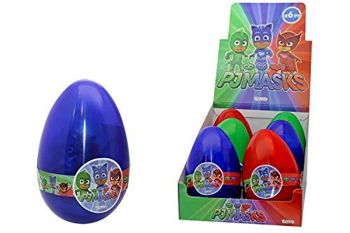 Maggio3-Pj Masks Ovotto Sorpresa, Multicolore, PJM-339902