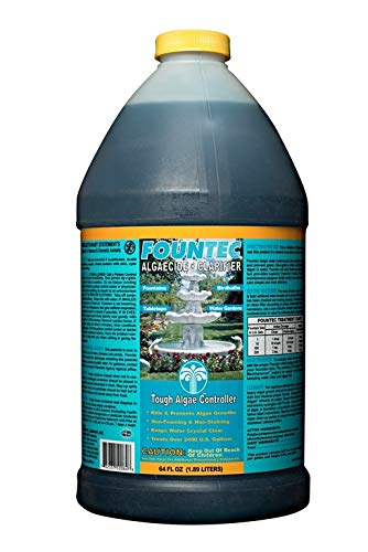 Fountec Fountain Algaecide Clarifier 64 Ounce