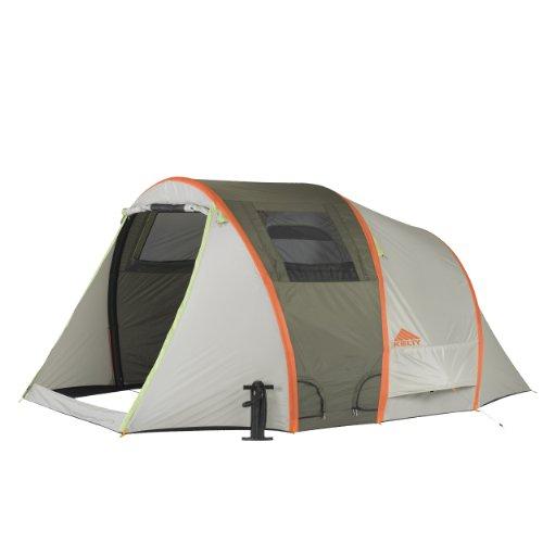 Kelty 860-90818514 - Tenda Mach 4 Airpitch con Telo Pavimento, Dimensione Unica, Grigio/Arancione