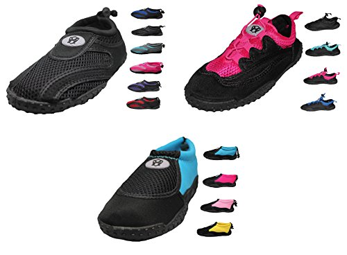 Womens Water Shoes Aqua Socks - high Durability, in Water and on Surface