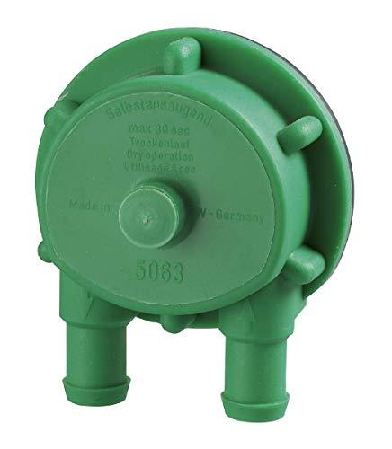 kwb Maxi-Pumpe P63 Bohrmaschinen-Pumpe 2400 l/h, selbstansaugend, Schlauch-Anschluss 1/2\'\', z. Befestigung von 1/2 Zoll-Schlauch mit Schlauch-Schellen, Made in Germany
