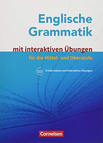 Englische Grammatik - Für die Mittel- und Oberstufe: Grammatik mit interaktiven Übungen auf scook.de