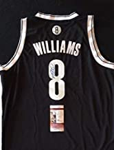 Deron Williams Black Brooklyn Nets Autographed Signed Jersey (Size XL) JSA/Coa Nba