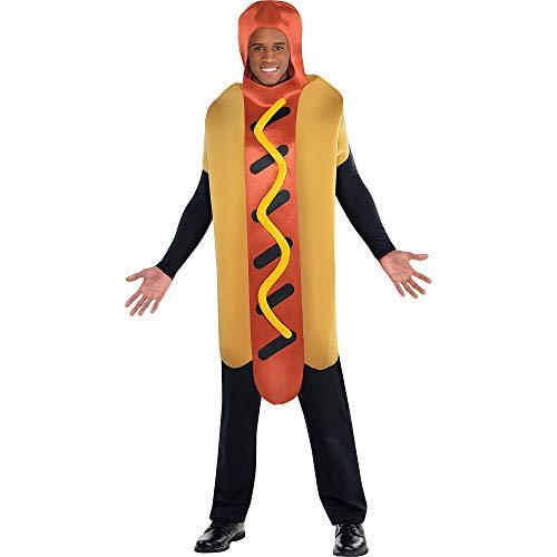 Christys Dress Up Kostüm HOT DOG - Einteile Gr. 44/46
