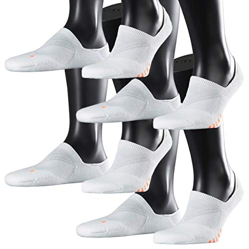 FALKE Sport Spirit Unisex Sneaker Cool Kick Invisible 4er Pack, Größe:42/43, Farbe:White (2000)