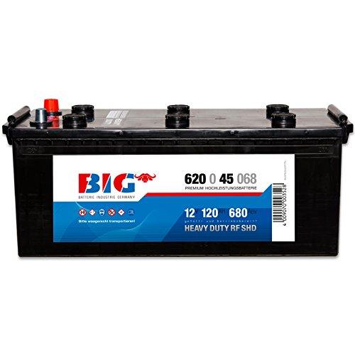 BIG LKW Batterie 12V 120Ah Starterbatterie Schlepper Traktor statt 140Ah 110Ah
