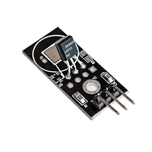 GzxLaY DC 4V-30V LM35D LM35DZ Sensor de Temperatura Digital Módulo Lineal LM35 Coche Inteligente