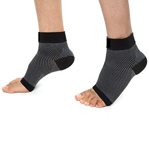 Plantar Fasciitis Socks (2 Pairs) Compression Foot Sleeves