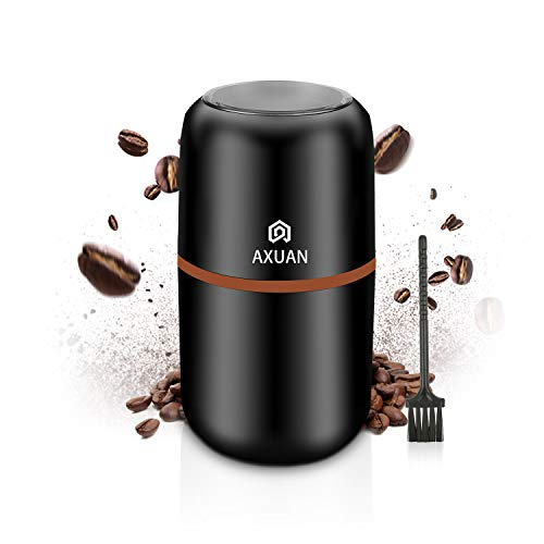 Electric Coffee Grinder, AXUAN Coffee Bean Grinder Electric, Beans, Nuts...