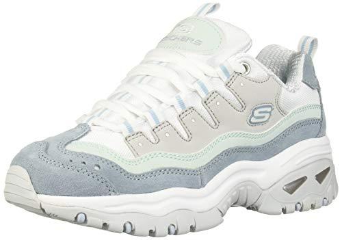 Skechers Tenis Energy para mujer, azul (Lbgy.), 38 EU