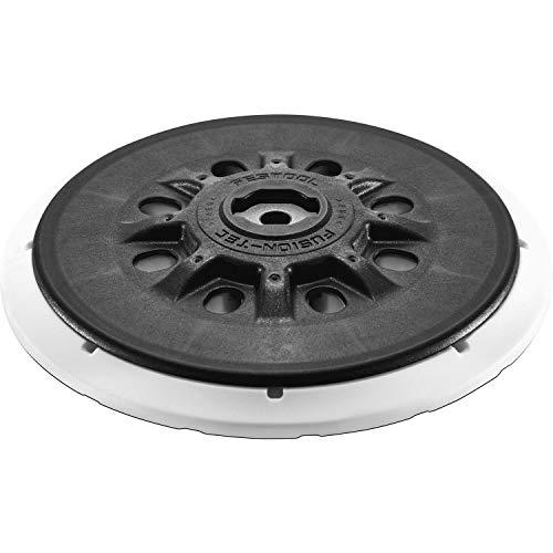 FESTOOL 202458, Piastra di Levigatura ST-Stf-D150 / MJ2 M8, Montaggio Morbido, Diametro 150 mm, grigio acciaio, 1 pezzo