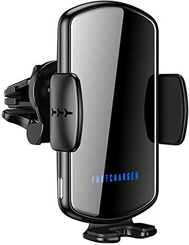 OH 1Pcs Cargador Inalámbrico de Cargador para Automóvil Sensor Inteligente de Carga Rápida Inalámbrica para Teléfono Carga directa inalámbrica