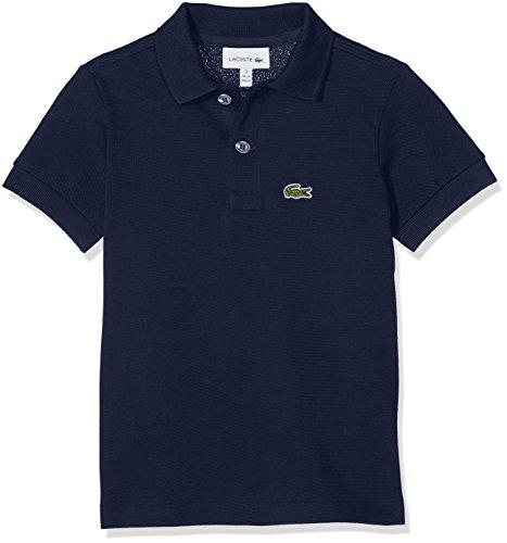 Lacoste Jungen Pj2909 Poloshirt, Blau (Marine), 12 Jahre (Herstellergröße: 12A)
