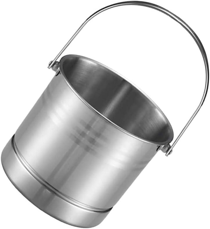 HEMOTON Stainless Steel Soldering Ice 5 ☆ very popular Bucket Wine Storage Bu Tub Champagne