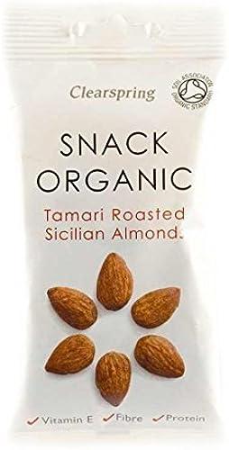 Clearspring   Tamari Roast Sicilian Almonds   2 x 15 x 30g