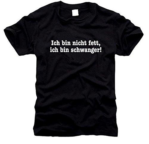 FOTL / B&C / Gildan Ich Bin Nicht fett, ich Bin schwanger - T-Shirt - Gr. XL