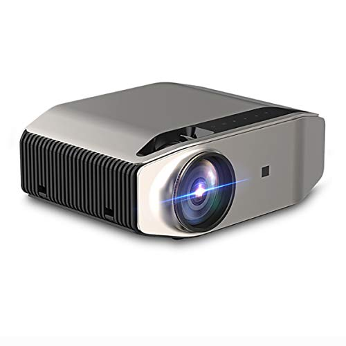 "FIZZENN Nativer 1080p-Projektor, 3800 Lumen 200"" Bildanzeige Kompatibel mit TV Box, HDMI, VGA, USB, Smartphone für Business Presentation Home Theater Entertainment"