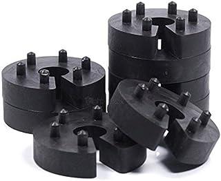 8er Set 16mm Federwegsbegrenzer Stick Clip X 1 mit 6 Fach Positionierung Federwegbegrenzer