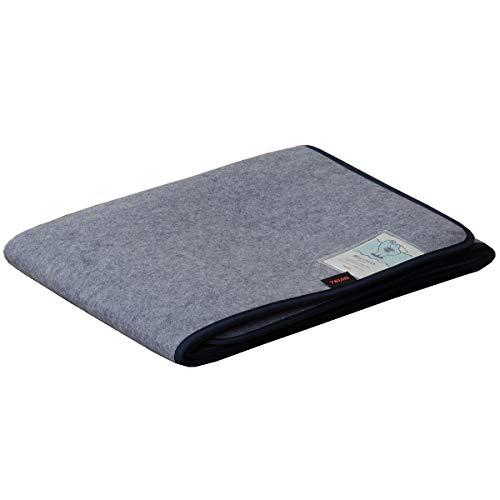 すのこや布団のカビ対策に センサー付き除湿マット 大容量除湿タイプ 1枚 ダブルサイズ 130×180cm 国産品 ベルオアシス